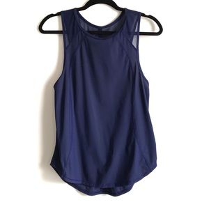Lululemon Sculpt Tank Navy Blue